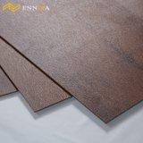 Impermeabilizar el suelo de madera del PVC del diseño del pegamento de 2m m/de 3m m abajo