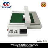 Etiqueta autocolante de mesa automática máquina de corte de Vincagem