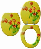 Le MDF réglable nouveau siège de toilette adulte imprimé