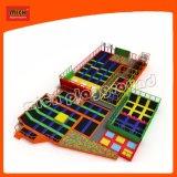 Design patenteado de alta qualidade ampla piscina trampolim Park