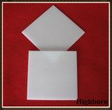 Hoja blanca lechosa vendedora superior de la placa de cristal de cuarzo de la silicona fundida