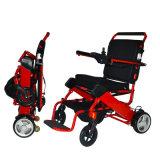 Sillas de rueda Handicapped de la potencia del recorrido con pilas del litio
