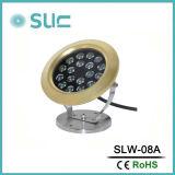 23W de protección IP68 Piscina bajo el agua de la luz de LED (SLW-08A)