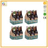 Изготовленный на заказ цвет напечатал несущую пива 6 пакетов