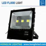 O holofote externo 150W AC85-265V A quente/frio Projectores Branco Iluminação Paisagística