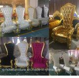 Chaise reale Longue della presidenza dell'oro del sofà di lusso di cerimonia nuziale per il banchetto/ristorante/hotel/Corridoio