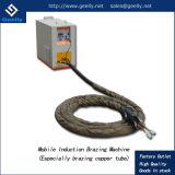 Aquecimento por indução portátil da brasagem máquina de solda com cabo flexível