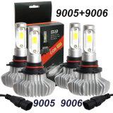 도매 싼 최고 밝은 6000lm Fanless H7 9005 9006 9012 H8 차 전구 H4 자동 LED 헤드라이트 장비
