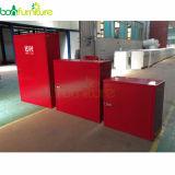 Стальной шкаф пожара/шкаф 80*80*30 пожарного рукава металла