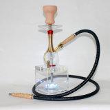Vaso + tubi dell'acqua per il tubo di fumo di vetro di fumo di acqua della barra di Shisha del tubo di fumo del tubo del portacenere di Shisha della sigaretta elettronica di vetro del narghilé Shisha