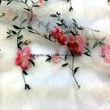 De Organza con tejido de poliéster para bordar vestidos de novia