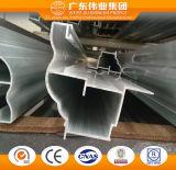 L'électrophorèse de marque Weiye profils en aluminium pour porte avec TUV