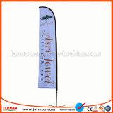 La exposición al aire libre Swooper bandera con la pole