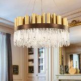 Iluminación LED lámpara de cristal Decoración moderna de la luz colgante