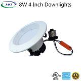 kit di modifica di 8W LED Downlight con il certificato dell'UL es