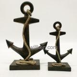 Decoração Home nova do tema da arte do mar da resina da decoração