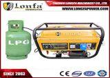 generador eléctrico de la gasolina del LPG del gas natural del comienzo 3kw/3kVA para el uso casero