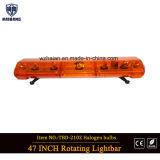 Alogeno ambrato Lightbar della cupola per i veicoli di applicazione di legge