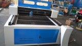 アクリルシートまたは木または革または布またはプラスチックGS-1525 100Wレーザーの打抜き機