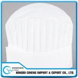 Белый Breathable любимчик окуная Nonwoven ткани для шлема шеф-повара