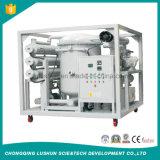 Chongqing 중국에서 Lushun 상표 Zja-T 9000 Liter/H 프레임 유형 고능률 변압기 기름 정화기