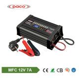 Caricabatteria 1207 di carico automatico di MFC del caricatore dell'automobile di 12V 7A