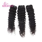 Unverarbeitete lockige intakte Jungfrau-peruanisches Haar, 100 Menschenhaar-Webart-Marken-peruanisches Jungfrau-Haar