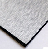 Compuesto de Aluminio exterior e interior del panel de fachada