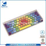 Добро оценило цветастый ярлык стикера клавиатуры