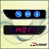 Temperatur-Bus-Digitaluhr LED-Digital