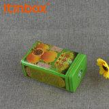 Impression quatre couleurs de boîtes de conserves de thé personnalisé