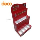 Contador de papel Mostrar Rack con ganchos para Retaild