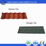 Tuile de toit en acier enduite de pierre durable d'aperçu gratuit
