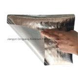 De Doek van de Glasvezel van de aluminiumfolie met het Weerspiegelende Materiaal van de Verpakking van de Isolatie van de Hitte