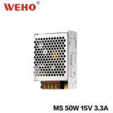 Cer RoHS anerkannte SMPS 15V 50W Schaltungs-Stromversorgung