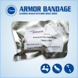 Forte adhérence de la résine polyuréthane Fix Wrap de bandes en Fibre de verre