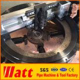 Наружный диаметр установлен переносной фланца машины для резки, с которыми сталкиваются расточки фрезерования