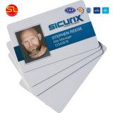 Usuario ampliamente en blanco de PVC de tamaño estándar de tarjeta RFID