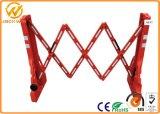 Barrera ensanchable plástica roja vendedora caliente