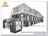 Imprensa de impressão eletrônica de alta velocidade do Rotogravure da linha central (DLYA-81000C)