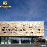 Les panneaux muraux de l'extérieur des bâtiments commerciaux pour la conception