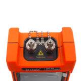 Fibra Tw2100e OTDR tenuto in mano di Techwin Reflectometre ottica