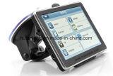 "Venta caliente 4.3"" de navegación GPS de coche con navegador GPS portátil, transmisor de FM, AV-en la cámara trasera, auriculares Bluetooth, Sistema de Seguimiento de navegación GPS de mano, TMC"