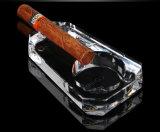 Decoratie van de Woonkamer van de Glasheldere Gift van het Glas van de Persoonlijkheid van de Mensen van het Asbakje van de sigaar de Praktische
