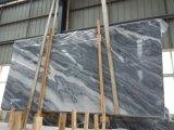 Het Grijze Opgepoetste Marmer Tiles&Slabs&Countertop van de golf
