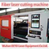 Hohe Leistung 3000W CNC-Metallfaser-Laser-Ausschnitt-Maschine mit Ipg Generator