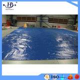 Het waterdichte 600g pvc Met een laag bedekte Geteerde zeildoek van de Polyester