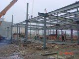 Edificio prefabricado del acero estructural con el palmo grande