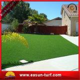 Precio artificial plástico de la alfombra de la estera de la hierba de la muestra libre para el jardín
