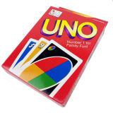 L'ONU de jeux de société de Hotsale cardent avec l'ONU Papercard de logo